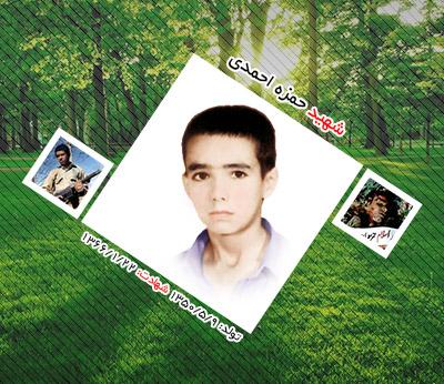 شهید حمزه احمدی اردکانی