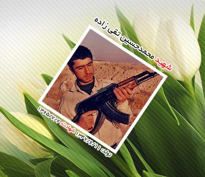شهید محمدحسین تقی زاده هامانه