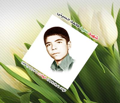 شهید سید محمد حسینی عقدا