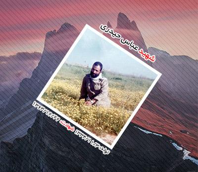 شهید عباس حیدری ترک آباد