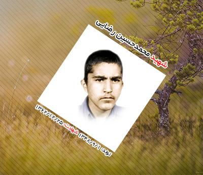 شهید محمدحسین رضایی شریف آباد
