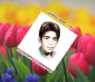 شهید محمد سلمانی احمدآبادی
