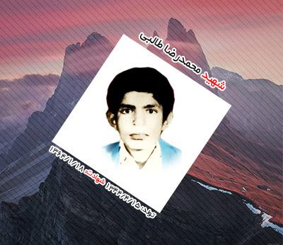 شهید محمدرضا طالبی