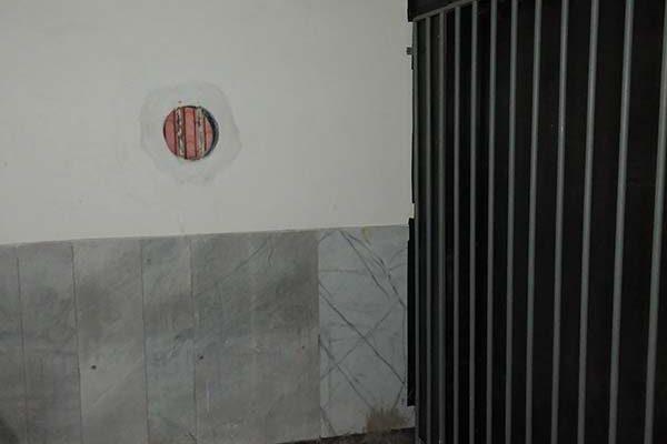 فضا سازی سلول شکنجه گاه