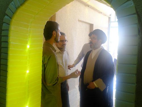 بازدید حسینی (وزیر ارشاد سابق)