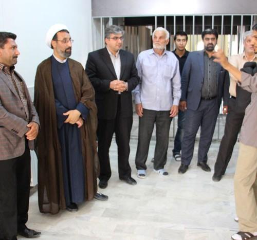 بازدید اعضای شورای شهر