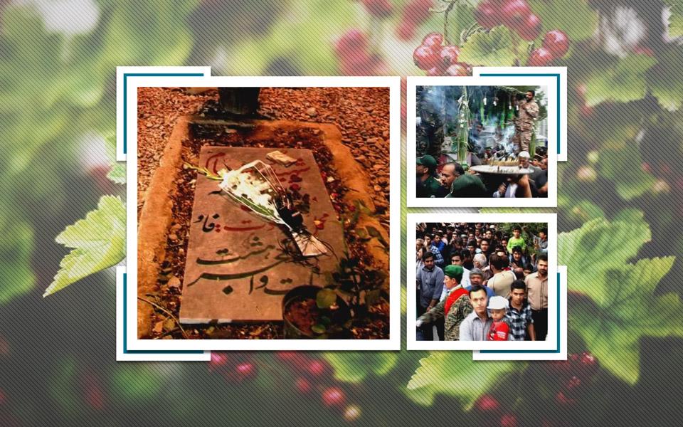 تشییع شهدای گمنام پارک شهر اردکان