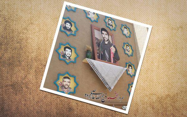 رونمایی از دومین دیوارنگاره حجم سرداران شهید در اردکان
