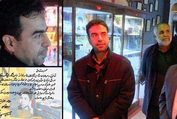 بازدید مهدی طحانیان، راوی کتاب «سرباز کوچک امام»
