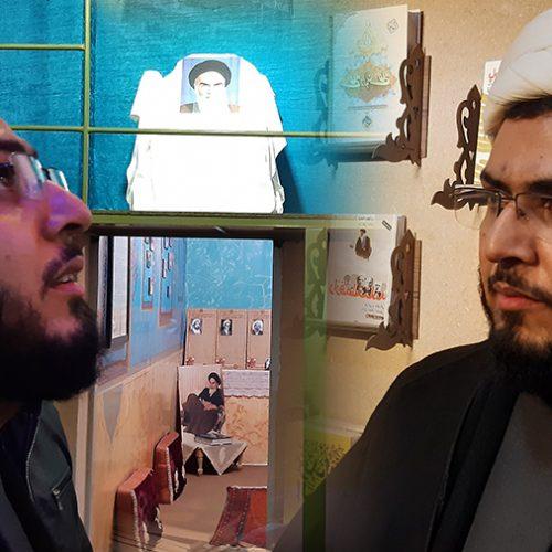 حجت الاسلام حدادپور جهرمی نویسنده کتابهای حیفا، کف خیابون، تب مژگان
