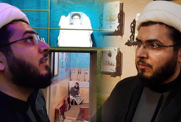 بازدید حجت الاسلام حدادپور جهرمی (نویسنده کتابهای حیفا، کف خیابون، تب مژگان و…)